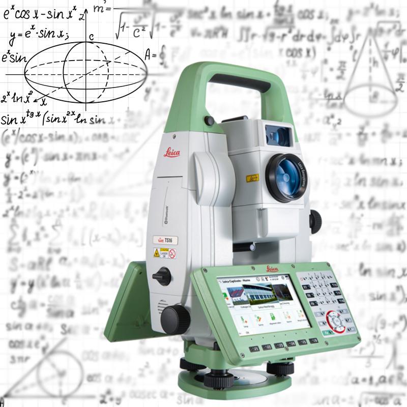Обучение работе с тахеометром