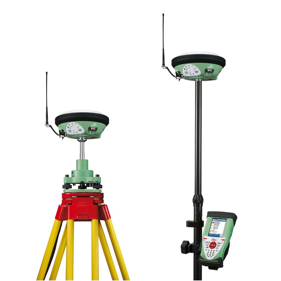 Комплект приемников Leica GS14 (база-ровер) и контроллер CS10 3.5G/UHF