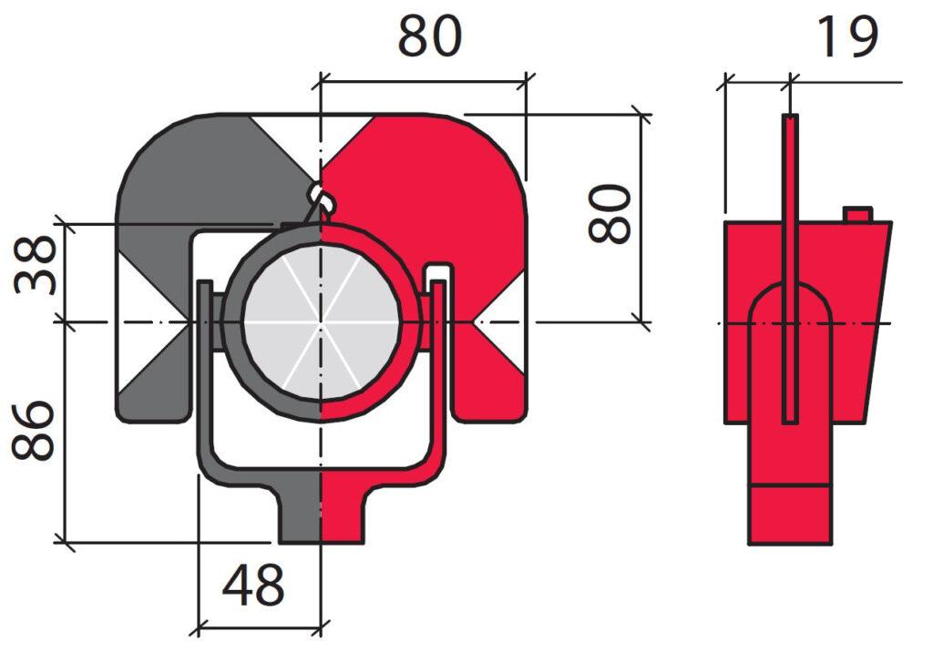 Характеристики отражателя GPR111