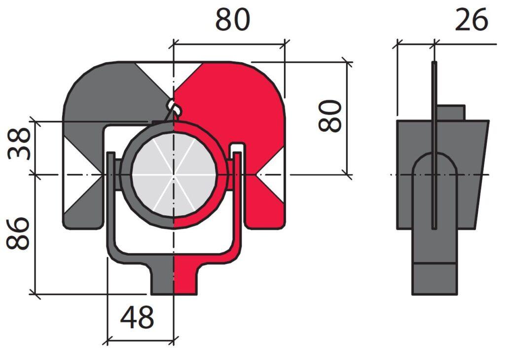 Характеристики отражателя GPR121